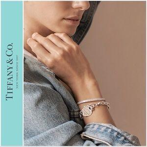 Tiffany & Co Heart Charm Bracelet Sterling Silver